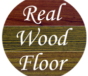 Real wood floor