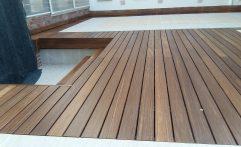 Terasa de lemn