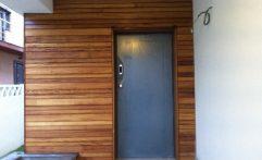 Fatada lemn